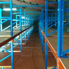 Heavy Type Pallet Racking System - Mezzanine Plywood