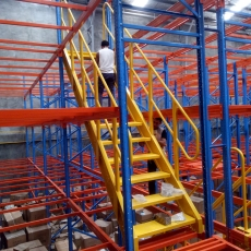 HEAVY DUTY PALLET RACK MEZZANINE