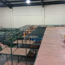 SLOTTED ANGLE RACK ( MEZZANINE PLYWOOD )