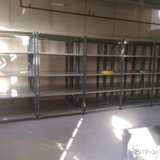 SLOTTED ANGLE RACK (STEEL PLATE)